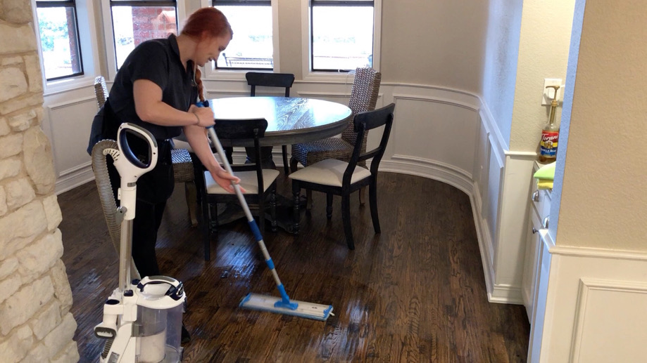 How We Clean Your Hardwood Floors